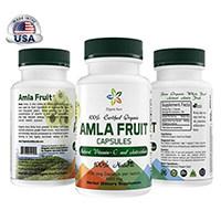 Økologisk Aura Certificeret økologisk AMLA Kapsler