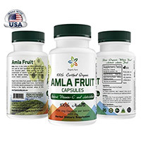 Organic Aura Certified Organic AMLA Cápsulas