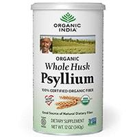 ორგანული ინდოეთი Whole Husk Psyllium
