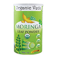 Οργανικά Veda - Βιολογικά Moringa φύλλα σε σκόνη