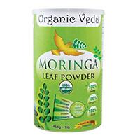 Organic Veda - Organic Moringa pulbere de frunze