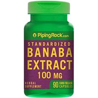 Extrait Piping Rock Health Products Banaba