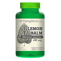 Piping Rock Health Products Melissa (Lemon Balm)