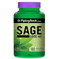 Piping Rock Health Products Sage 1600 mg