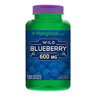 Piping Rock Health Products Wild Blueberry Fruit