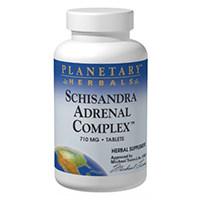 პლანეტარული Herbals Schisandra Adrenal კომპლექსი