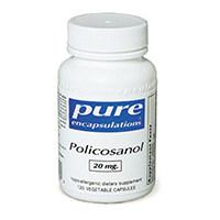 Καθαρό ενθυλακώσεις - Policosanol 20 mg