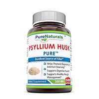 Naturals murni Psyllium Husk