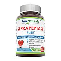 خالص طبیعی Serrapeptase