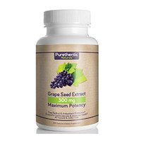 Purethentic Naturals Grape Seed Extract Capsules