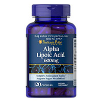 Orgulho ácido lipóico Alpha puritano