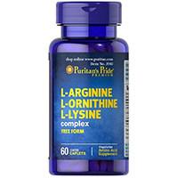 Puritan Pride L-Arginine L-Ornithine L-Lysine