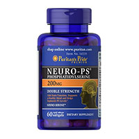 Puritan თავმოყვარეობა Neuro-PS (PhosphatidylSerine)