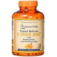 Puritans Pride Vitamien C 1000 Mg Met Rose Hips