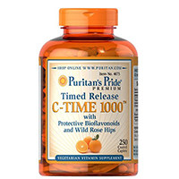 Puritan's Pride Vitamin C-1000 mg with Rose Hips