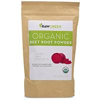 Сурови Зелени Organics - Био Цвекло прах корен