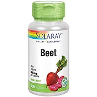 Solaray Beet Root kapsler