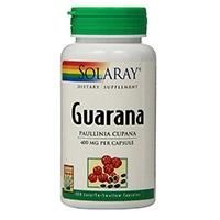 Solaray Guaraná Cápsulas