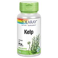 Solaray Kelp ერთად ფოლიუმის მჟავა