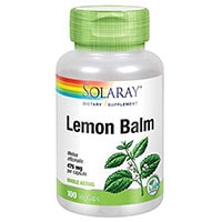 Solaray bálsamo de limón hierba