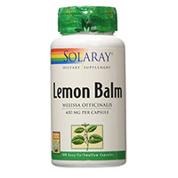 Solaray Lemon Balm Herb