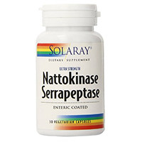 Solaray Nattokinase and Serrapeptase Supplement