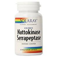 Solarayナットウキナーゼとセラペプターゼ補足