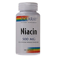 Solaray Niacin Capsules