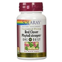 Solaray Red Clover Phytoestrogen Supplement