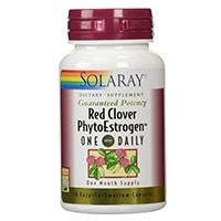 Solaray Red Clover Phytoestrogen Supplement