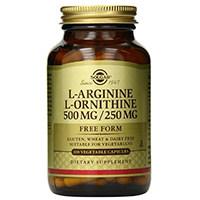 Капсулы Растительных Сольгары L-аргинин L-орнитин