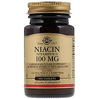 Solgar نیاسین ویتامین B3