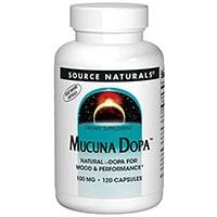 Източник Naturals Mucuna Dopa
