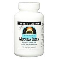 Source Naturals Mucuna Dopa 100mg