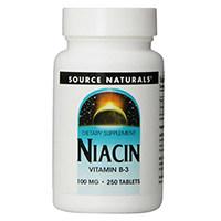 Πηγή Naturals Νιασίνη Βιταμίνη Β-3
