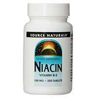 Източник Naturals Ниацин Витамин B-3