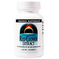 Extrait Source Naturals Red Clover