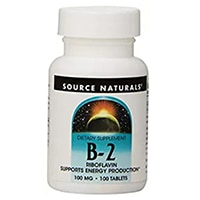 Източник Naturals Витамин B-2 рибофлавин