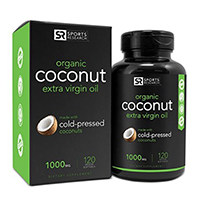 Sports Research Organic Coconut Oil 1000mg