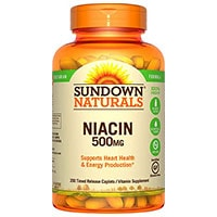 Sundown Naturals Niasiini