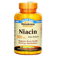 Sundown Naturals niacina