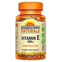 Sundown Naturals Vitamin E 400 IE