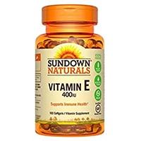 მზის ჩასვლის Naturals ვიტამინი E 400 სე