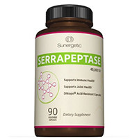 Sunergetic Bedste Serrapeptase Enzyme Supplement