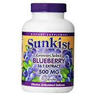 Sunkist Grower Piliin Blueberry Capsules