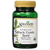 سوانسون كامل الطيف الأسود بذور الكمون