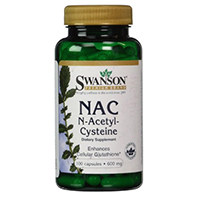 Swanson Nac N-Asetiel cysteïne 600 mg