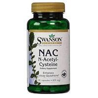Swanson Nac N-acetylcystein 600 mg