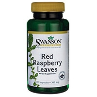 Swanson Red Raspberry Φύλλα