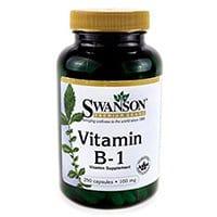 Swanson La vitamina B-1 (Tiamina)